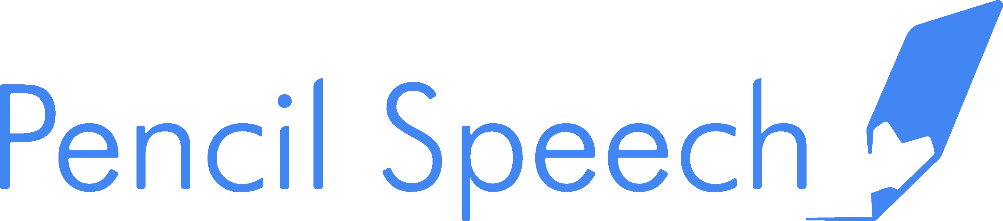 Logo Pencil Speech